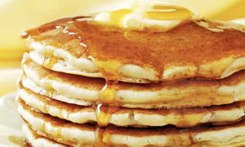 Hastings Kiwanis Club Pancake Day Helps Children All Over the World